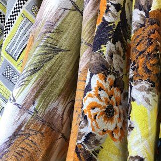 #Vintage Barkcloth